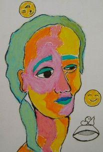 Emoji, Ironie, Kopfstellen, Zeichnungen