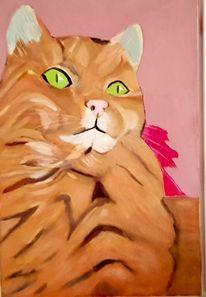 In memoriam, Katze, Malerei, Lebewesen