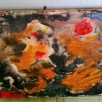 Malerei modern, Abstrakt, Acrylmalerei, Malerei