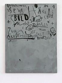 Abstrakt, Grau, Hässlichkeit, Malerei