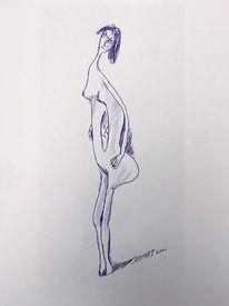 Menschen, Zeichnung, Zeichnungen,