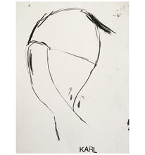Portrait, Skizze, Zeichnungen,