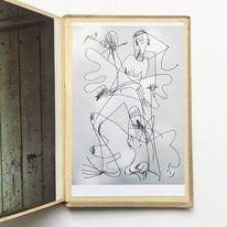 Zeichnung, Monika, Buch, Zeichnungen