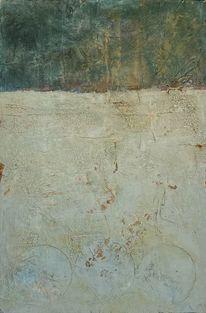Pigmente, Sand, Verwittert, Collage