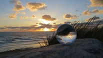 Leuchten, Glaskugel, Meer, Draußen