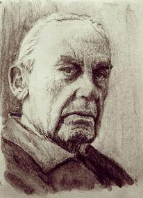 Architektur, Bauhaus, Gropius, Portrait