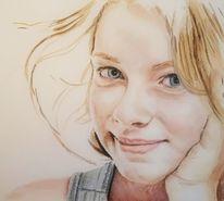 Portrait, Gesicht, Augen, Mädchen