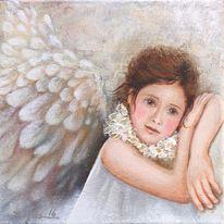 Engel, Geburt, Gemälde, Modern art