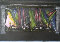 Malerei, Krone, Band,