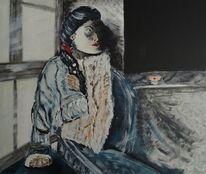 Malerei acryl, Acryl acrylmalerei, Malerei, Tibet