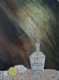 Acryl acrylmalerei, Malerei acryl, Malerei, Stillleben