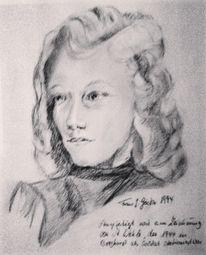Bleistiftzeichnung, Portraitzeichnung, Zeichnungen, Junge