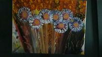 Abstrakt, Farben, Blumen, Malerei