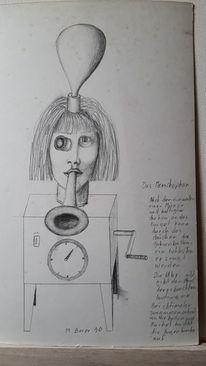 Modern art, Abstrakt, Menschen, Zeichnungen