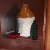 Farben, Modern, Licht, Malerei