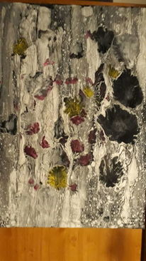 Abstrakt, Farben, Stillleben, Malerei