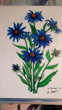 Blumen, Stillleben, Farben, Malerei