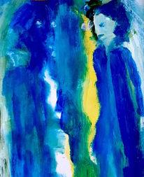 Geist, Gelb, Blau, Malerei