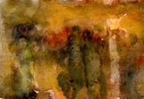 Ocker, Menschen, Gelb, Malerei