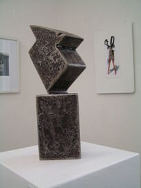 Eisenplastik, Skulptur, Objekt, Plastik