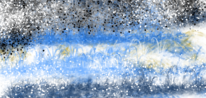 Landschaft, Malerei, Farben, Digitale kunst