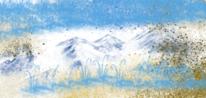 Malerei, Farben, Landschaft, Digitale kunst