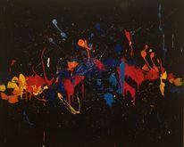 Malerei, Acrylmalerei, Seele, Farben