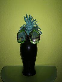 Lampe, Brille, Schaumstoff, Kunsthandwerk