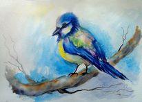 Natur, Aquarellmalerei, Aquarell tiere, Tiermalerei