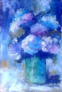 Garten, Blumen, Blumenstrauß, Rosa