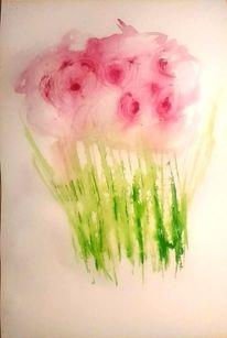 Natur, Rot, Moderne kunst, Abstrakte malerei
