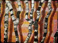 Malerei acryl, Acryl acrylmalerei, Malerei, Schatten