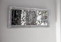 Spiegeldesign, Kunsthandwerk, Muster,