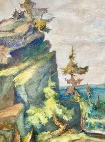Naila, Landschaft, Kunstsammler, Verschollen