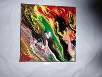 Malerei, Malerei acrylmalerei, Modern art, Farben
