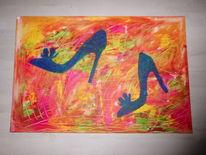 Acrylmalerei, Gemälde, Malerei, Dekoration