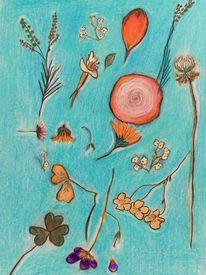 Blumen, Zeichnungen