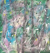 Design, Malerei acrylmalerei, Abstrakt, Malerei abstrakt