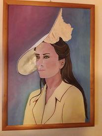 Modern, Malerei, Portrait