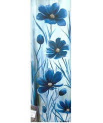 Unterwasserhäusel, Xxl bild, Blumen, Acrylmalerei