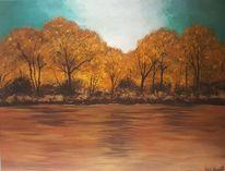 Himmel, Büro, Herbst, Landschaft