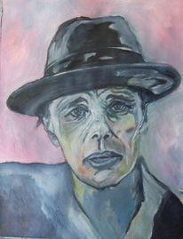 Malerei, Ölmalerei, Beuys, Hut