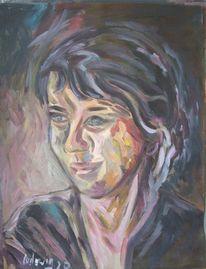 Acrylmalerei, Malerei, Frau