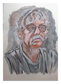 Skizze, Portrait, Cordular, Malerei