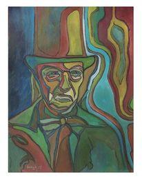 Ölmalerei, Mann, Lord, Neueart