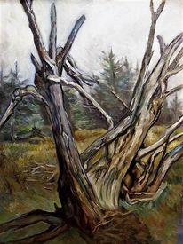 Landschaft, Baum, Tod, Malerei