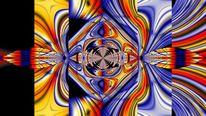 Abstrakt, Modern, Farben, Digitale kunst
