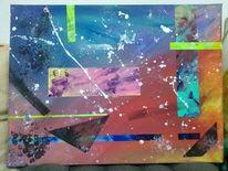Abstrakt, Gefühlswelten, Farben, Malerei
