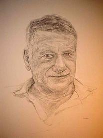 Gesicht, Portrait, Mann, Zeichnungen