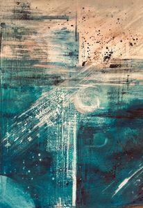 Abstrakt, Malerei, Farben, Modern art